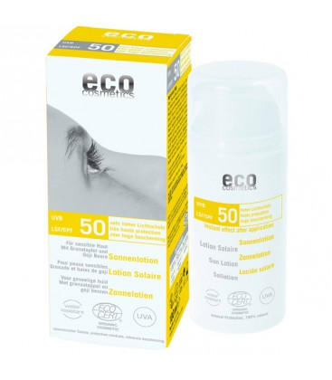 ECO-Cosmetics Lotion Solaire SPF 50